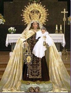 Virgen del Carmen, Reina De Chile, Generala de las fuerzas Armadas chilenas._thumb[1].jpg (478×622)