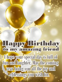 This all-inclusive post will satiate your need for happy birthday wishes for friends, Best birthday messages in hindi & Romantic bday wishes greetings. Birthday Wishes For A Friend Messages, Happy Birthday Quotes For Friends, Messages For Friends, Birthday Quotes For Daughter, Happy Birthday Wishes Cards, Happy Birthday Mom, Best Birthday Wishes, Birthday Wishes Quotes, Happy Friends