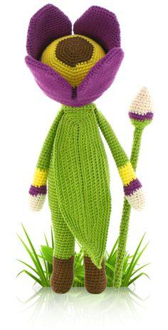 Tulip Theo - crochet amigurumi pattern by Zabbez / Bas den Braver