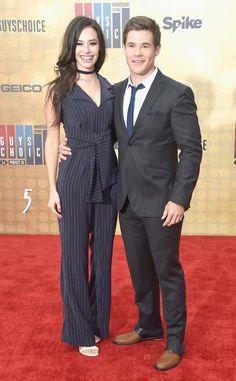 Chloe Bridges & Adam Devine: Spike TV's Guys Choice Awards 2016