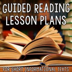 FREE [Guided Reading Plans] for Nonfiction Texts... English Language Arts, Balanced Literacy, Reading 3rd, 4th, 5th Lesson Plans (Individual), Guided Reading Books, Nonfiction Book Study I use short nonfiction texts in my guided reading groups to teach nonfiction skills in the context of Social Studies topics. It makes integrating ELA and Social Studies so simple.