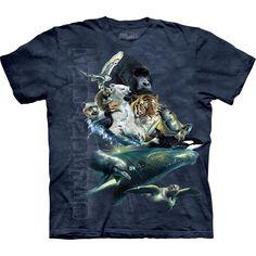 Endangered Species Collage T-Shirt