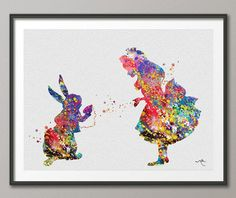 Hey, I found this really awesome Etsy listing at https://www.etsy.com/listing/187586105/alice-and-white-rabbit-alice-in