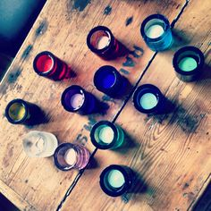 Iittala Kivi votives. Dark Autumn, Hygge, My Dream Home, Finland, Home And Garden, Candles, Lights, Glass, Decor Ideas