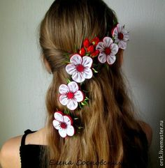 Floral hair accessory