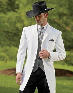 Fashion Custom Made Western Tuxedos Cowboy Slim Fit Black Groom Suit Wedding Suit For Men/Prom Suit Jacket+Pants+Vest Wedding Tuxedo Styles, White Tuxedo Wedding, Wedding Men, Wedding Suits, Wedding Tuxedos, Wedding Ideas, Formal Tuxedo, Wedding Groom, Cowboy Wedding Attire