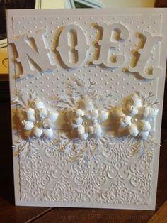 Very artistic Noel card!