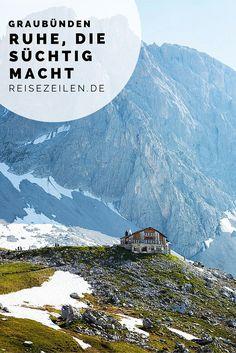 """Schweiz - Auf Bergtour in Graubünden """"Ruhe die süchtig macht"""". """"Quiet, it's addictive""""?"""