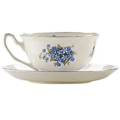 Stash Tea English Forget Me Not Cup and Saucer : wedding