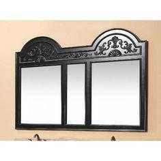 68x49 Double Mirror in Black #mirror #doublemirror #4thofjulysale #HomeDecor #InteriorDesign #InteriorDesigner #HomeDecorating #furniture #efurnituremart #HomeDecorator #decor - eFurnitureMart, eFurniture Mart