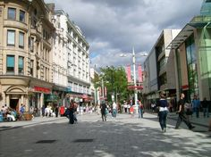 Cardiff, Wales city center