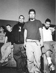 Deftones.-- Amazing voice, music, and lyrics that are art and poetry.