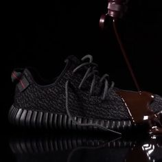 Adidas Yeezy 350 Boost w/ Crep Protect vs. Hershey's Chocolate Syrup!  #Yeezy #Adidas @adidas @hersheysrd #Boost @crepprotect