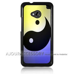 Htc one m7 case #cover & #screen #protector a1910 yin yang tai chi,  View more on the LINK: 	http://www.zeppy.io/product/gb/2/222023450844/