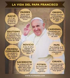 La vida del papa Francisco