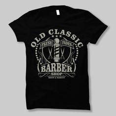 Old Clic Barber Graphic Design