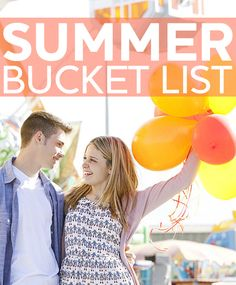 Check out the ultimate Summer bucket list for couples now!