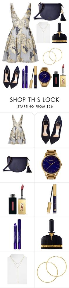 """""""Untitled #321"""" by cristiana-s ❤ liked on Polyvore featuring Notte by Marchesa, Christian Dior, Lauren Ralph Lauren, MVMT, Yves Saint Laurent, Estée Lauder, By Terry, Tom Ford, The Giving Keys and Melissa Odabash"""