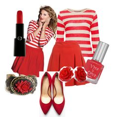 """taylor swift red"" by shanetdraper on Polyvore"