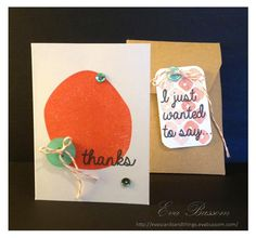 Eva's cards and things: SSINK - My Paper Pumpkin Feb 2015 alternative project - gift card holder.  For a pictorial tutorial and more project close ups see the post.