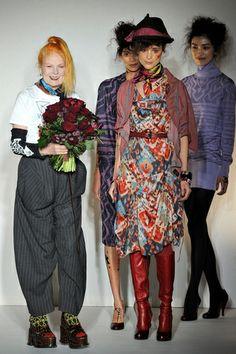 Quién es cuasi MODA ?????: Punk hasta los huesos: Vivienne Westwood