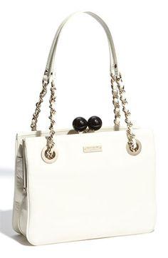 Kate Spade new york 'hopper house- framed darcy' shoulder bag  - i love the kiss-love losure.