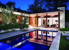 Interior Small Green Plants Near Swimming Pool Magnificent Modern Home Interior Design