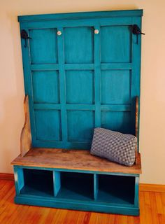 Rustic Entry Hall Tree Bench for Entryway or Mud by SameAsNever, $999.00