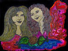 Love Ladies Painting