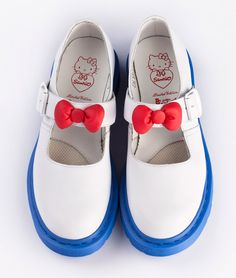 Hello Kitty White Mary Jane Dr. Martens
