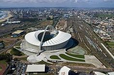 Moses Mabhida Durban Stadium built for the 2010 world cup soccer Durban South Africa, Hit Home, Widescreen Wallpaper, Wallpapers, African Countries, Continents, East Coast, World Cup, City
