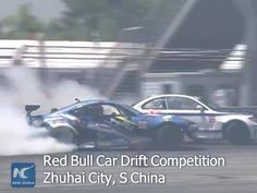 Eleven international drivers battled it out on the 260-meter Red Bull Car Drift Competition track in the southern city of Zhuhai, but it was Italian driver Federico Sceriffo who emerged victorious, beating Indonesian driver Emmanuelle Amandio to the top of the podium.