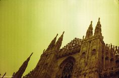 Duomo di Milano - Redscale  Camera: Fed 5b Film: Kodak 200 iso modificato redscale http://unanuvolaintesta.blogspot.it/