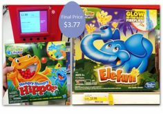 Hungry Hungry Hippos Game, Only $3.77 at Target!