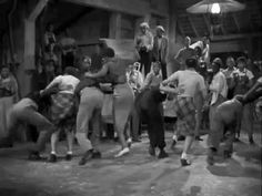 Lindy Hop scene — 'A Day at the Races' (1937)    Its a vintage barn dance! How fun!