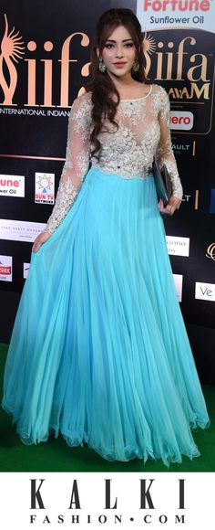 IFFA 2017 (Disclaimer : The above picture does not belong to KALKI. Party Wear Dresses, Prom Dresses, Formal Dresses, Wedding Dresses, Indian Dresses, Indian Outfits, Indian Princess, Profile Picture For Girls, Dress Models