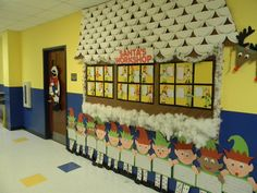 Santa's workshop bulletin board... If only I had time for this!