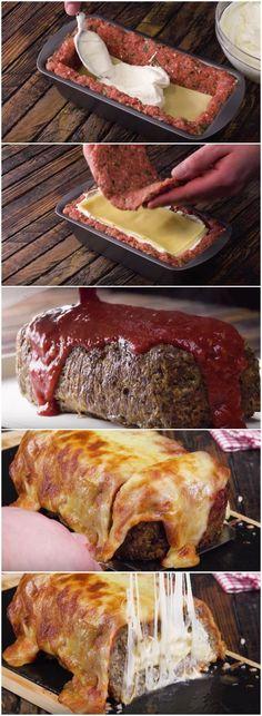 ESSA TORTA DE CARNE É A MELHOR COISA QUE VOCÊ VAI COMER NA VIDA! (veja a receita passo a passo) #torta #carne #tortadecarne