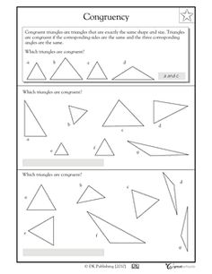 Worksheets Congruent Triangles Worksheet triangles and worksheets on pinterest congruent worksheet