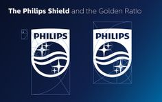The new Philips shield and the golden ratio | Our logo design