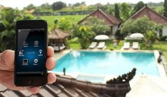 owner Danny, controls his house in Amsterdam all the way from Gili Air (Bali) Gili Air, Amsterdam Houses, Palm Of Your Hand, Smart Home, Bali, Articles, Check, Smart House