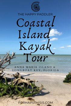 Happy Paddler Kayak Coastal Island Tour located on Anna Maria Island, Florida, is the perfect kayaking adventure! Paddle out to see wildlife on the way to your own private island. Florida Vacation, Florida Travel, Travel Usa, Visit Florida, Beach Vacations, Beach Trip, Dream Vacations, Island Park, Island Tour