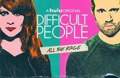 """With things as dire as they are, don't we want our comedy to reflect our distressing state? Funny enough, the most cynical show on television/streaming, """"Difficult People,"""" appears as the bright spot on the summer TV slate. In the first three episodes, the show displays no fear in not only mentioning politics, but satirizing it in the fabric of many of the plots. #Andrea Martin #Billy Eichner #Comedy #Difficult People #Hulu #Jackie Hoffman #Julie Klausner #REVIEW #tv"""