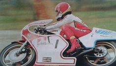 Agostini on yamaha 500cc