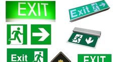 Compliant with building fire codes and standards in the Philippines, our illuminated exit signs work day and. Emergency Exit Signs, Philippines, Fire