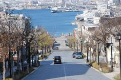 函館の坂道 八幡坂