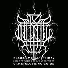 CRMC BLACK (METAL) FRIDAY DISCOUNT Further reductions on many items at www.crmc-clothing.co.uk | WE SHIP WORLDWIDE  USE DISCOUNT CODE - BLACKFRIDAY - FOR 25% OFF YOUR FULL ORDER #blackfriday #blackfriday2015 #blackfridaysale #blackfridaydeals #blackfridayshopping #discounts #sale #blackmetal #discount #darkthrone #transilvanianhunger #alternativegirl #alternativeboy #alternativeteen #blackwear #fashionstatement #altfashion #black #loveblack #fashion #corpsepaint