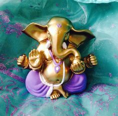 Ganesha statue Lord Ganesh statue altar by TriquetraBoutique