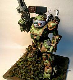 スコープドッグ | 模型・フィギュアSNS【MG】 Battle Robots, Armored Core, Japanese Robot, Gundam, Sci Fi, Cyborgs, Dodge Charger, Fallout, Cyberpunk