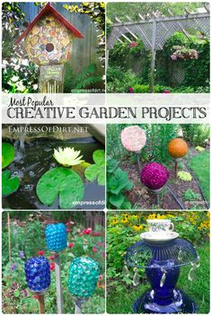 Top 10 DIY Projects For The Home & Garden...http://homestead-and-survival.com/top-10-diy-projects-for-the-home-garden/